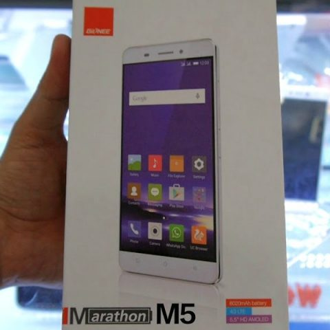 Gionee M5 Mobility