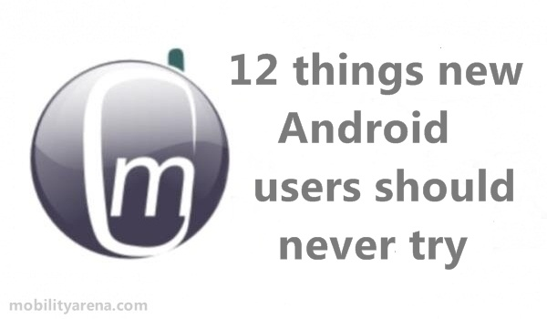 New-Android-user
