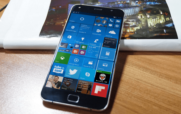 umi touch w10m front