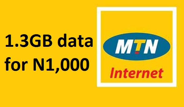 1.3GB data for N1,000