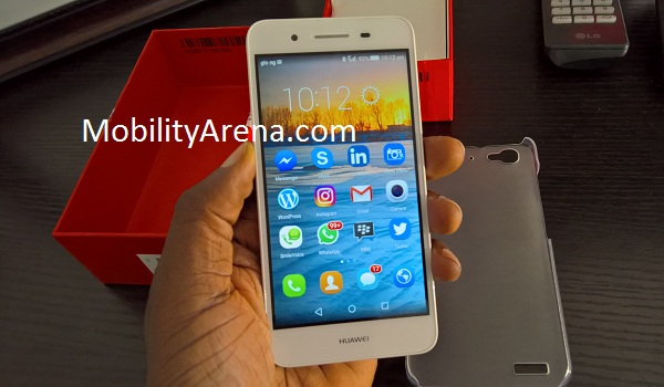 Huawei GR3 Unboxing front