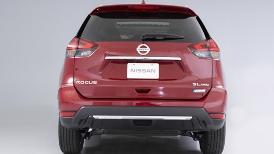 2017 Nissan Rogue - The back side