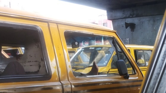 Tecno W3 review - photo of bus taken with main camera