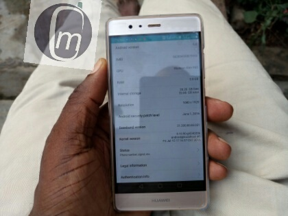 huawei p9 about