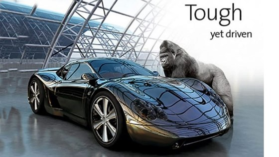 Gorilla Glass for cars