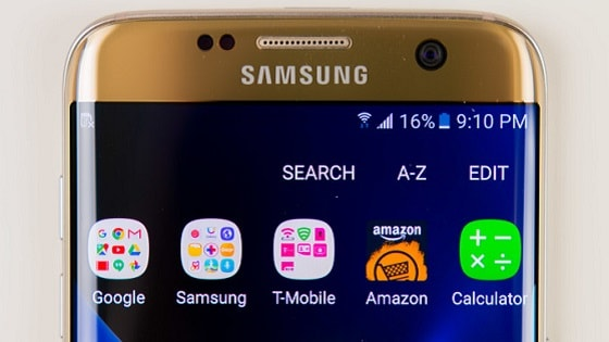 Samsung Android 7 update