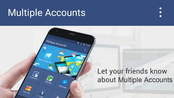 use two accounts
